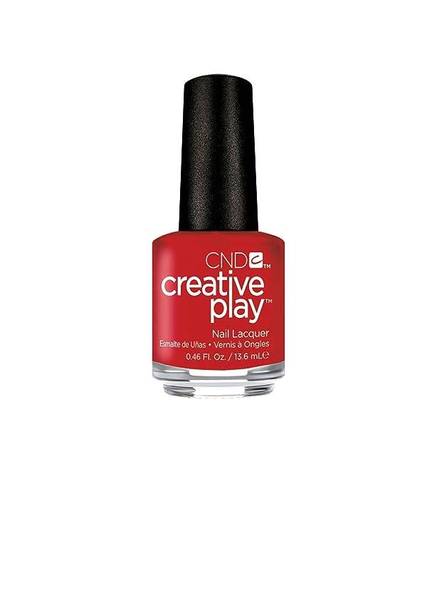 香港確かに平行CND Creative Play Lacquer - Red-y to Roll - 0.46oz / 13.6ml