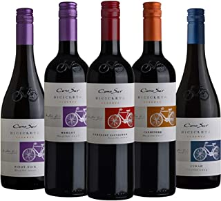 コノスル ビシクレタ 人気セパージュ 赤ワインだけ 5本飲みくらべ セット [ 750ml×5本 ]
