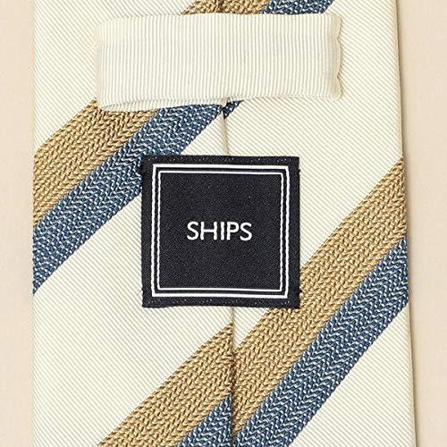 シップス(メンズ)(SHIPS)SD:フォサッティーホワイトラップストライプネクタイ【ピンク/ONESIZE】