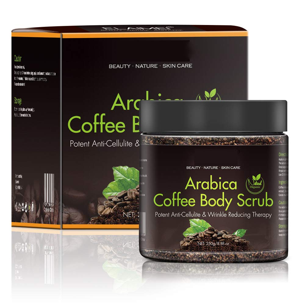 Arabica Coffee Body Scrub Max 55% OFF for Cellulite and 100% Natural Bargain Firming