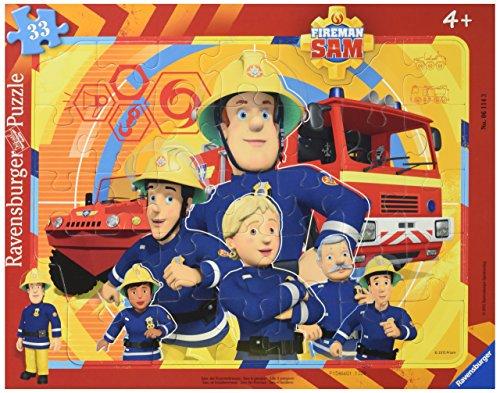 Ravensburger Italy- Sam Il Pompiere Puzzle Incorniciato, 06114 3
