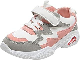 DolceTiger Basket Fille Sneaker Enfant Chaussure de Course Garçon Mode Respirant Sport Runing Shoes Compétition Entraîneme...