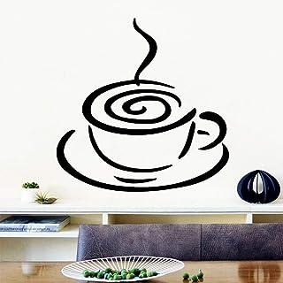 BailongXiao Romántico café Pegatinas de Pared decoración del hogar Accesorios para la habitación de los niños decoración nórdica del Estilo del hogar 40.5X13.5cm