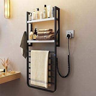 HYY-YY. Elektryczny podgrzewacz na ręczniki przymocowany do ściany z wbudowanym timerem, na stałe przewody, opcjami wtyczk...