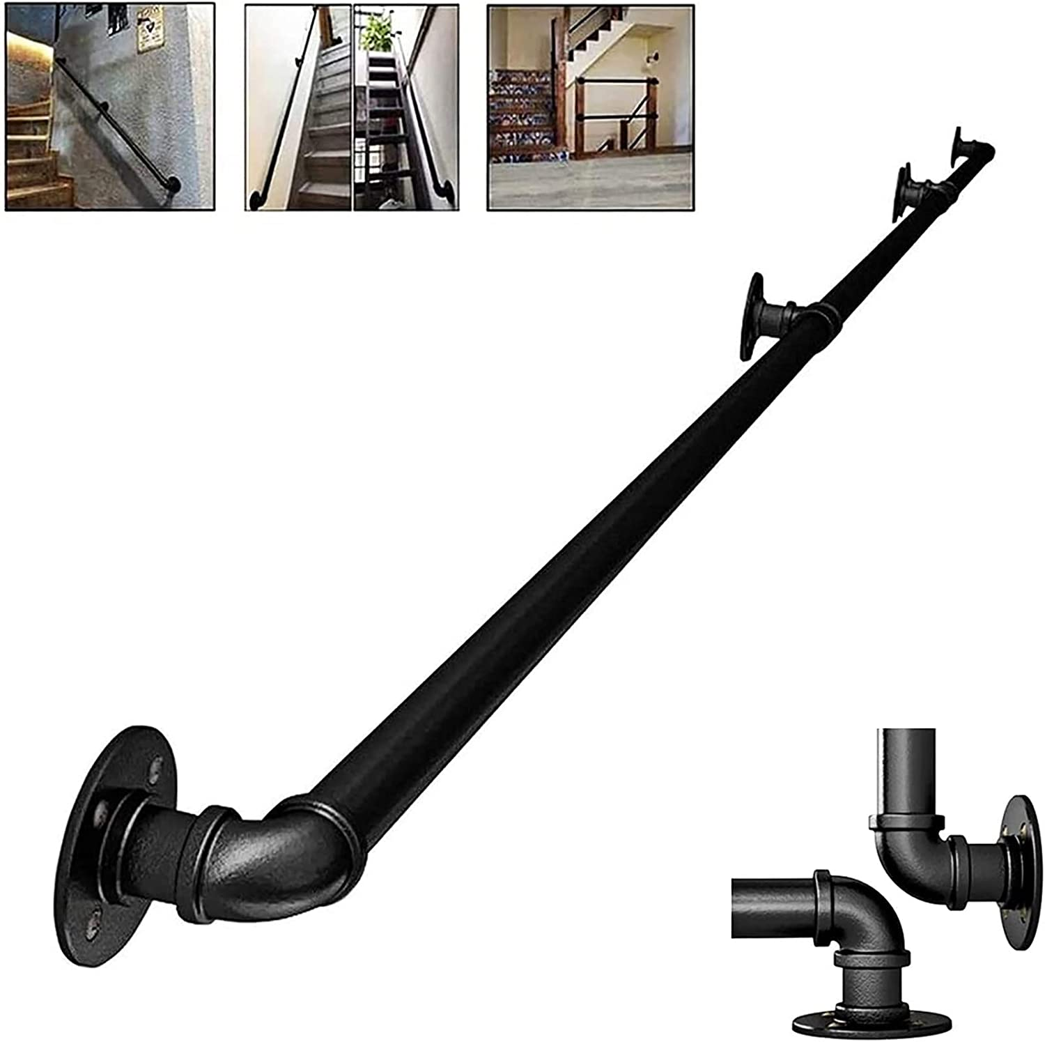 Handrails Topics on TV For Store Stairs Handrail Wood Indoor
