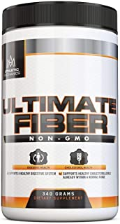Athletic Mechanics - Ultimate Fiber - Quality, GMO-Free Psyllium Husk Fiber Powder to Support Digestion and Relief Constip...