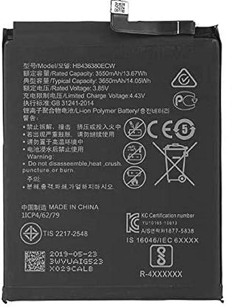 Spes Akku Für Huawei Honor 7x Ersatz Akku Batterie Elektronik