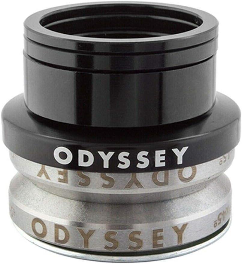"""ODYSSEY CONICAL 1-1//8/"""" intégré jaune BMX Vélo Casque"""