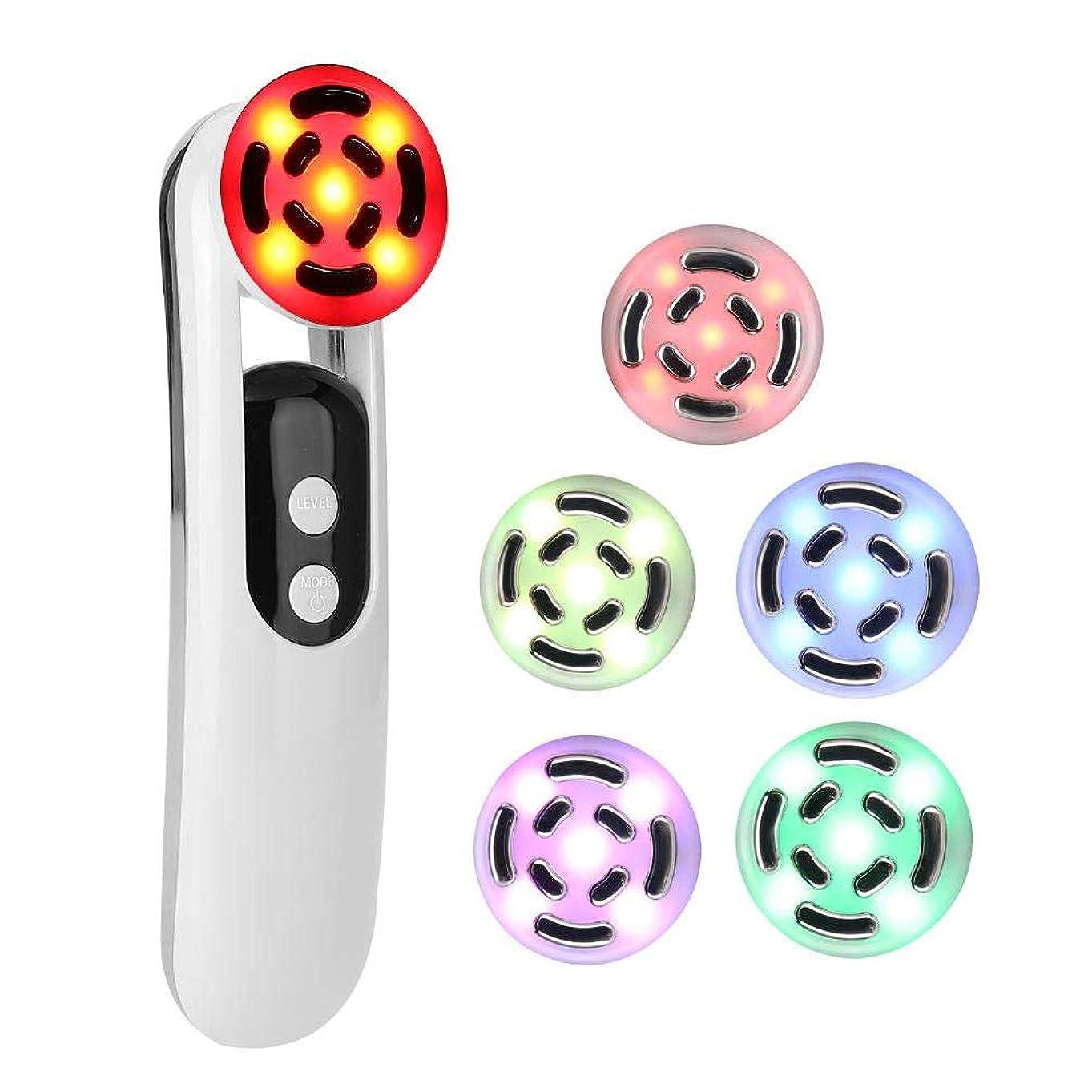 光スピン公顔を持ち上げるしわリムーバルアンチエイジング電気顔クレンジングスキンケア美容器具の肌引き締め機