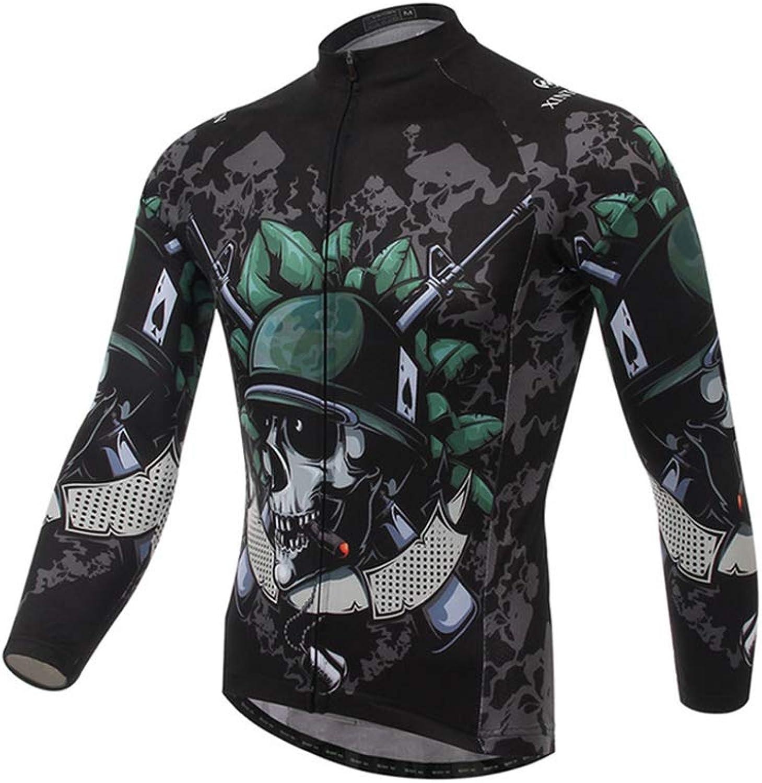 Autumn Jersey, Long Sleeve Tops Sportswear QuickDrying Breathable Mountain Bike Wear