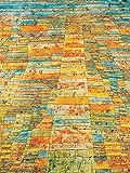 1art1 Paul Klee - Hauptweg Und Nebenwege, 1929 Poster