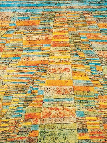1art1 Paul Klee - Hauptweg Und Nebenwege, 1929 Poster Kunstdruck 80 x 60 cm