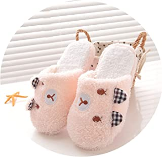 5fc62b8bc can t be satisfied Autumn Winter Lovely Women Home Indoor Slippers Cartoon  Warm Anti Slip
