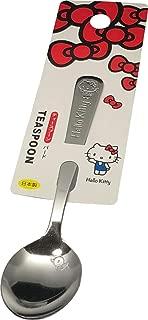 KAKUSE Sanrio Hello Kitty Stainless Tea Spoon 13.2cm (L) Flatware Teaspoons Kitchen Japan (Bird)