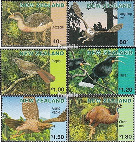 Nieuw-Zeeland Mi.-Aantal.: 1558A-1563A (compleet.Kwestie.) 1996 Uitgestorven Vogels (Postzegels voor verzamelaars) vogels