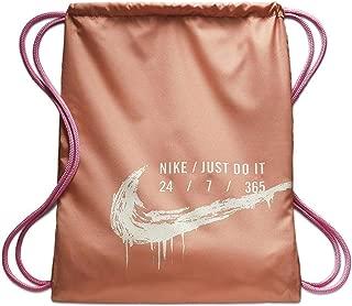 pale pink gym bag