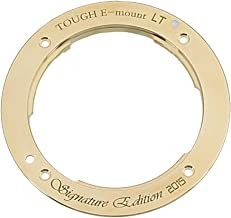 The Tough E-Mount Signature Edition LT from Fotodiox Pro - A Distinctive Brass, Light Tight Replacement Lens Mount for Sony NEX & E-Mount Camera Bodies (APS-C & Full Frame Such as NEX-5, NEX-7 & a7)
