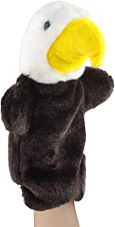 Andux Land Cute Plush Hand Puppet Soft Stuffed Animal Toy (SO-27 Eagle)