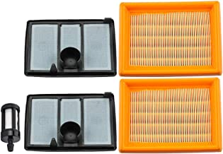Leopop 4224 141 0300 Air Filter Pre Filter for Stihl TS700 TS800 4224-141-0300 4224-140-1801 Cutquik Cut Off Saw with Fuel Filter Parts Kit