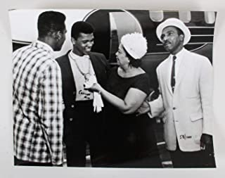 Cassius Clay Signed Photo Muhammad Ali 11x14 58/100
