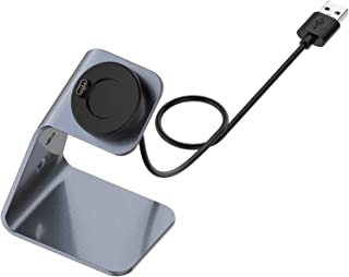 SASKATE Oplader, staand dock, oplader snellaadstation, compatibel met Garmin Forerunner 745 / Venu Sq / Fenix6 Smart Watch