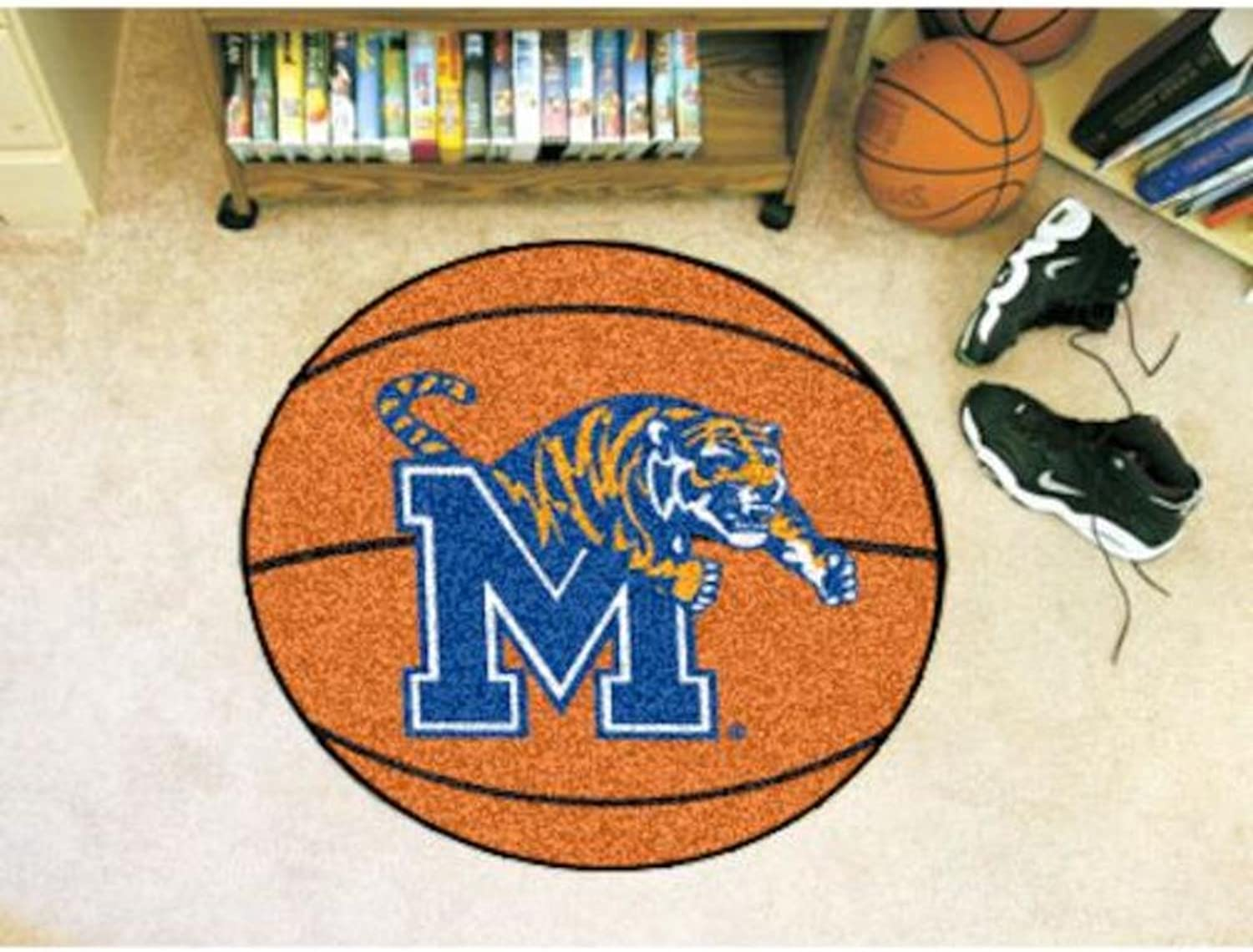 University of Memphis Basketball Rug