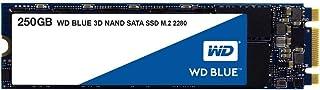 Western Digital WDS250G2B0B WD Blue 3D NAND Internal SSD M.2 SATA, 250 GB