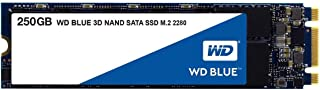 WD Connected Distribution Blue 3D NAND SATA SSD, WDS250G2B0B