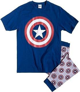 Mens Captain America Marvel Pyjamas