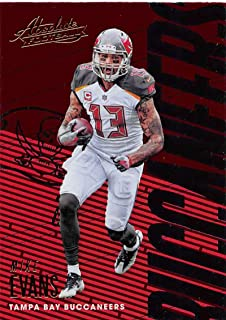 2018 Absolute Football #93 Mike Evans Tampa Bay Buccaneers Official NFL Trading Card made by Panini
