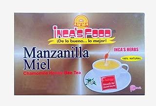 Inca's Food Chamomile With Honey Tea, 50 Tea Bags, from Peru
