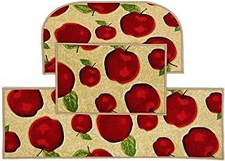 Magstonee Non-slip Rubber Backing Kitchen Rugs 3 Piece Carpet Doormat Rug Sets (3pcs)