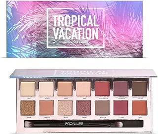 ROPALIA 14 Color Matte Shimmer Colorful Waterproof Makeup Eyeshadow Palette (B)