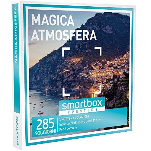 Smartbox - Magica Atmosfera - 270 Soggiorni Esclusivi In Incantevoli Dimore e Hotel 3* e 4*, Cofanetto Regalo