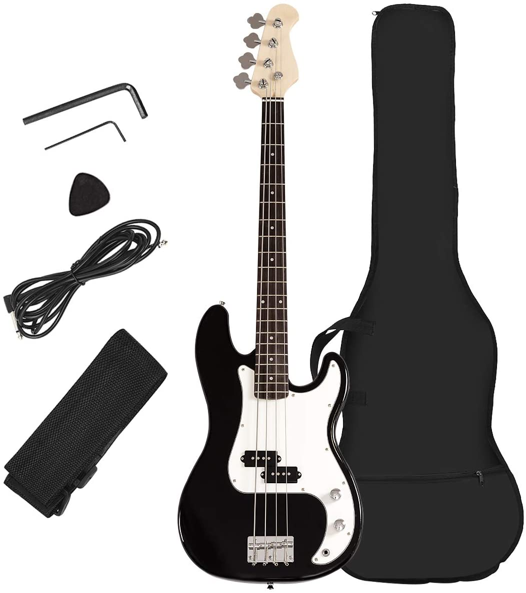Costzon Max 89% OFF Full Size All stores are sold Electric 4 String Guitar Bass Sta Beginner for