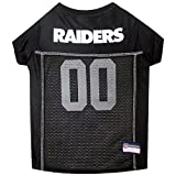NFL OAKLAND RAIDERS DOG Jersey, Medium, OAK-4006-MD