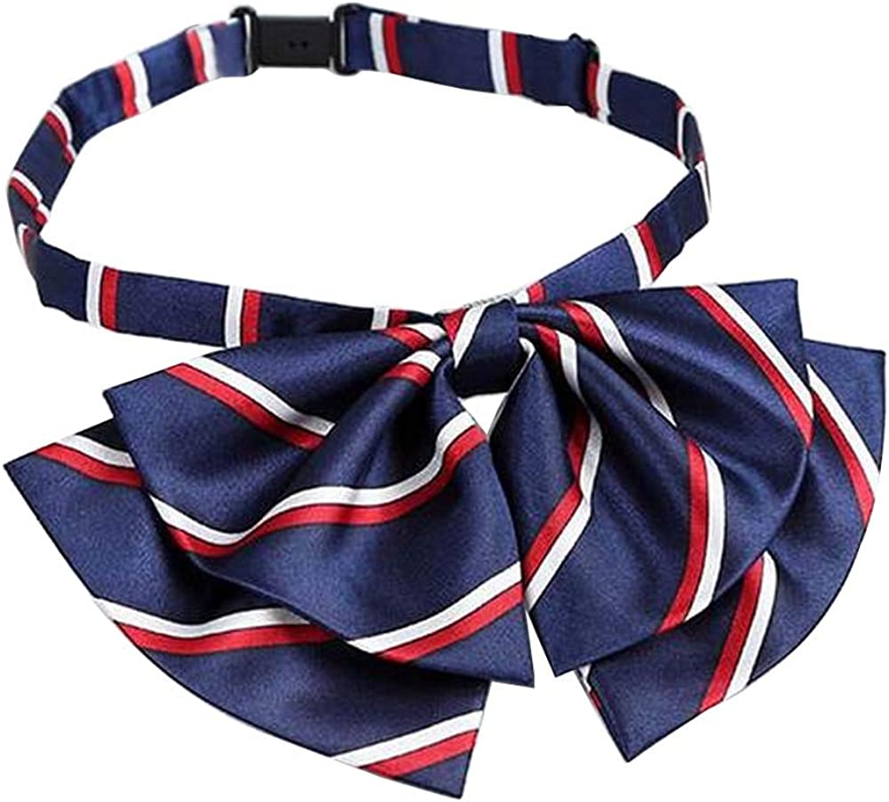 Women Uniform Bow Ties Ladies Shirt Bowties Adjustable Bow-knot Ties #26
