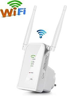 Aigital WiFi Repetidor Router, 300Mbps Enrutador Inalámbrico Extensor de Red WiFi Ap Amplificador Wireless Repeater Booste...