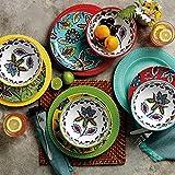 Caribbean Melamine Dinnerware Set 12 pc