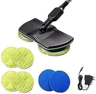 Qinlee. Balai à Franges électrique Rotatif sans Fil Balais Laveurs Rechargeable pour Nettoyer Les Sols Et Moquettes