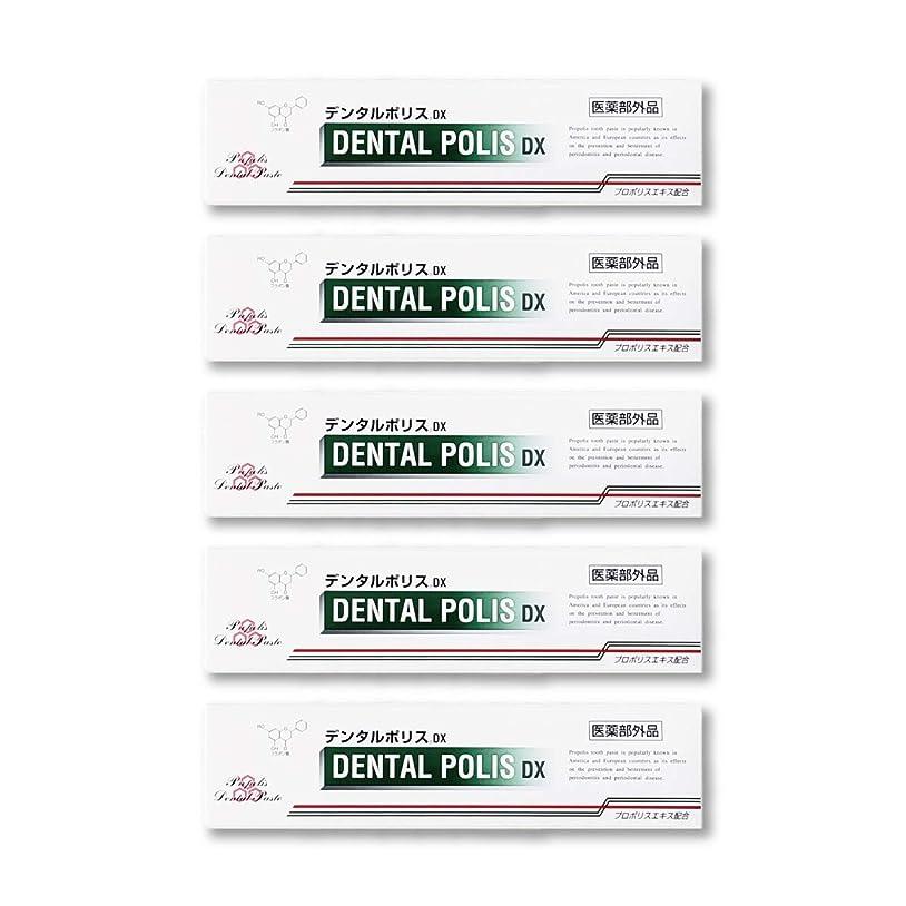 頭痛メトロポリタンコントロールデンタルポリスDX  80g   5本セット 医薬部外品  歯みがき