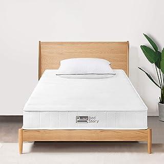 BedStory マットレス シングル 高反発マットレス 体圧分散 腰楽 底付き感無し 快適睡眠 通気性抜群 高耐久性 圧縮梱包
