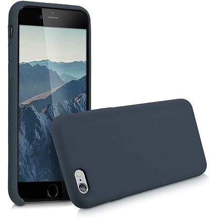 Kwmobile Hülle Kompatibel Mit Apple Iphone 6 6s Handyhülle Gummiert Handy Case In Dunkelblau Matt Elektronik