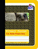 Pacon Primary Composition Book Bound Picture Story Ruled, 1/2-in. Ruled, 100 Sheets, Yellow (2426)