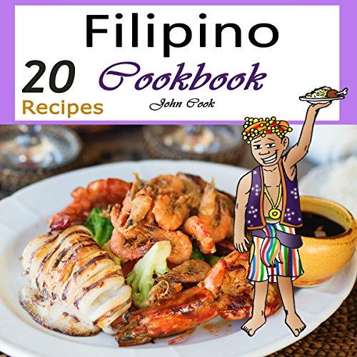 Filipino Cookbook audiobook cover art
