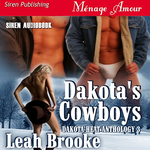 Dakota's Cowboys audiobook cover art