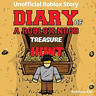 Diary of a Roblox Noob: Treasure Hunt (New Roblox Noob Diaries) cover art