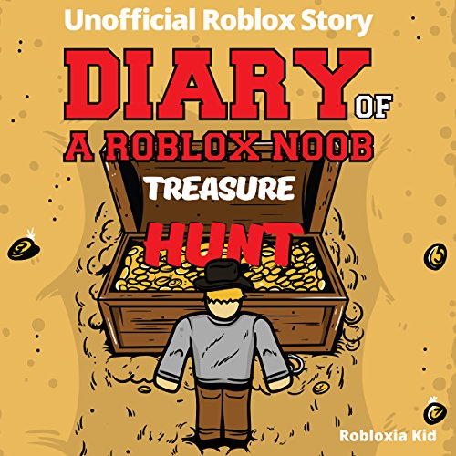 Diary of a Roblox Noob: Treasure Hunt (New Roblox Noob Diaries) audiobook cover art