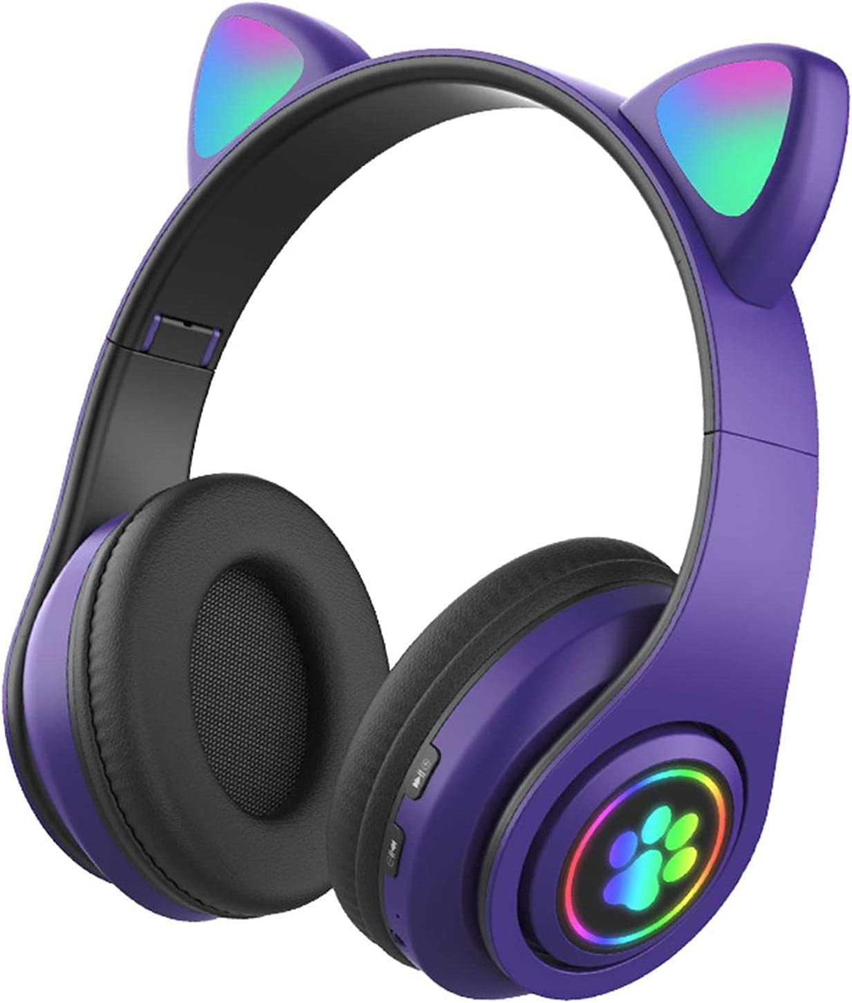 BIUNIY Wireless Bluetooth Headphones for Kids USB Charging Foldable Stereo Headphones Support TF Card Music Games Gift