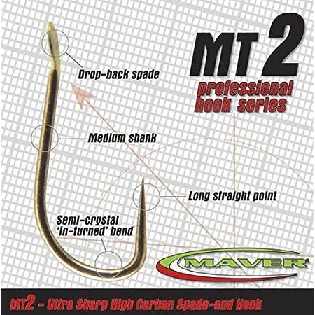 Barbless-18 MT 6 Maver Match This Hooks